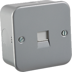 Brilliant Metalclad Wiring Accessories Socket Switch Dimmer Spur Cooker Unit Wiring Digital Resources Apanbouhousnl